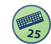 Spammer 25 mensajes en un día