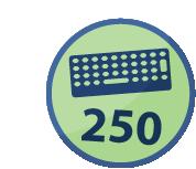 Spammer 250 mensajes en un día